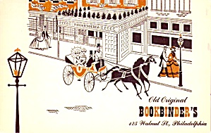 Philadelphia PA Old Original Bookbinder s Restaurant p39293 (Image1)