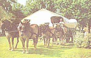 Landis County PA Pennsylvania Farm Museum Conestoga Wagon p39302 (Image1)