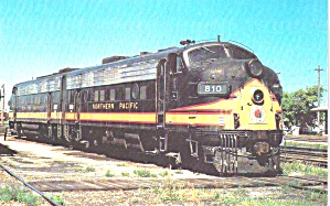 Northern Pacific Railway Emd F9a 810 And 812 P39315
