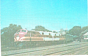Boston And Maine Railroads Train 54 In Rock Island Style Paint P39316
