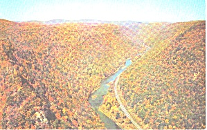 Wellsboro Pa Aerial View Of Pennsylvania S Grand Canyon Fall Colors P39344