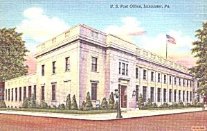 Lancaster PA U S Post Office p39363 (Image1)