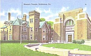 Bethlehem PA Masonic Temple p39383 (Image1)