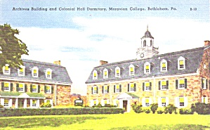 Bethlehem PA  Moravian College Colonial Dormitory p39402 (Image1)