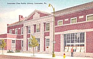 Lancaster PA Lancaster  Free Public Library p39413 (Image1)