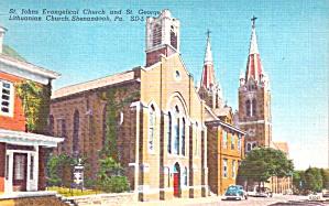 Shenandoah PA St George Lutheran Church p39420 (Image1)