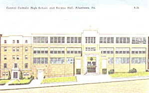 Allentown PA Central Catholic High School Rockne Hall p39432 (Image1)