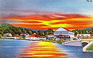 Lake Scene in Pennsylvania p39437 (Image1)