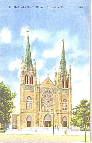 Hazelton PA St Gabriel R C Church  p39444 (Image1)