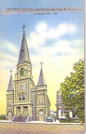 Plymouth Pennsylvania Church of the Nativity B V M p39454 (Image1)