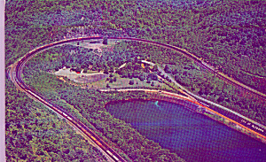 Horseshoe Curve Altoona Pennsylvania PA P39545 (Image1)