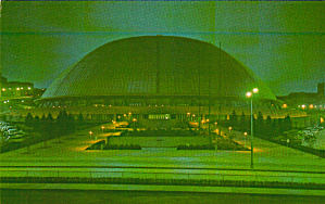 Civic Arena At Night Pittsburgh Pennsylvania P39556