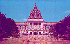 Harrisburg Pennsylvania The State Capitol P39581