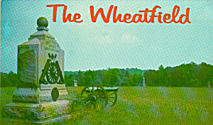 The Wheatfiedl Gettysburg Pa Military Park P39587
