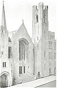 St Luke s Lutheran Church New York City Postcard p3962 (Image1)
