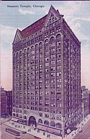 Chicago IL Masonic Temple p39716 (Image1)