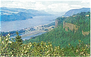 Columbia River Gorge Postcard (Image1)