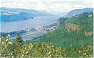 Columbia River Gorge WA Postcard p3971 (Image1)