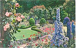 Butchart Gardens Victoria BC Postcard (Image1)