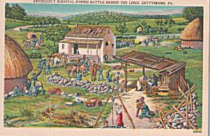 Gettysburg PA Emergency Hospital During Battle p39897 (Image1)