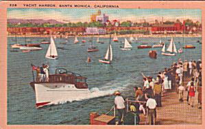 Santa Monica California Yacht Harbor p39901 (Image1)