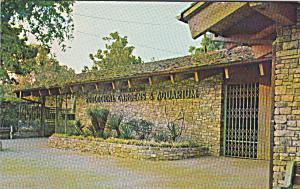San Antonio Texas Entrance Zoological Garden Aquarium p39916 (Image1)