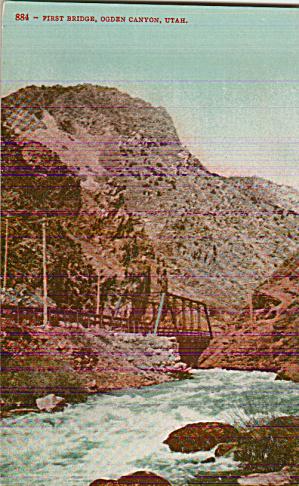 Ogden Canyon Utah First Bridge P39935 (Image1)