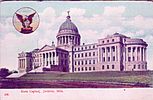 Jackson Mississippi State Capitol P39939