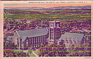 Ithaca New Youk Cornell University College of Law Myron Taylor Hall p39957 (Image1)