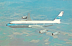 Kuwait Airways Corporation 707-320 P40031