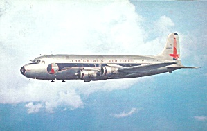 Eastern Airlines Dc-4 In Flight P40049