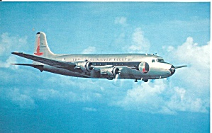 Eastern Airlines Dc-4 In Flight P40053
