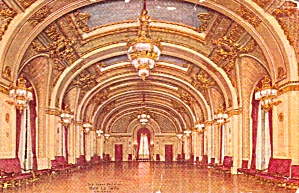 Chicago Il Hotel La Salle Grand Ball Room P40166 1913