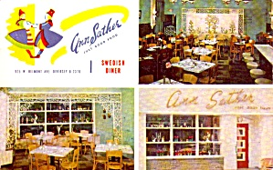 Chicago Il Ann Sather Swedish Diner P40172