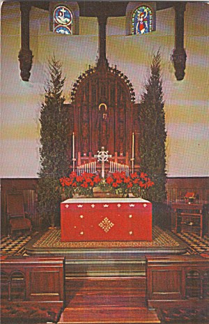 Annapolis Maryland St Anne s Episcopal Church Postcard p40291 (Image1)
