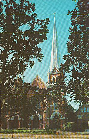 Aiken South Carolina St Mary s Catholic Church Postcard P40300 (Image1)