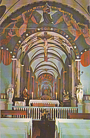 Kalapana Hawaii Star of the Sea Painted  Catholic Church P40302 (Image1)