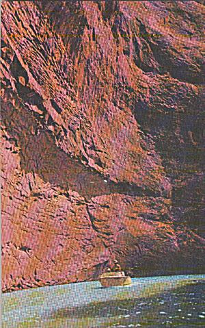 Lake Powell Utah Arizona above Glen Canyon Dam Postcard P40303 (Image1)