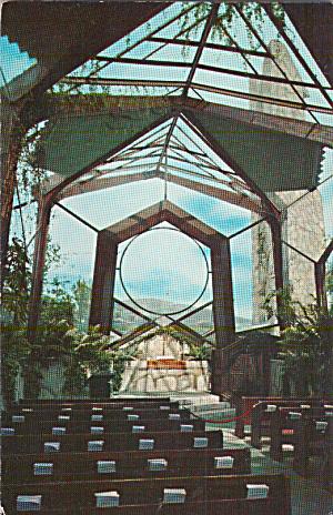 Portuguese Bend California Wayfarers Chapel Postcard P40313 (Image1)