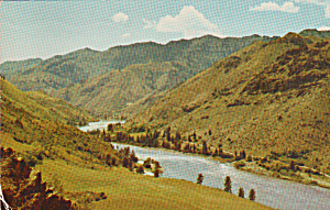 Snake River Canyon Linking Oregon and Idaho p40363 (Image1)