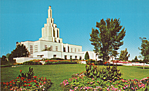 Idaho Falls Idaho Latter Day Saints Temple Postcards P40388 (Image1)
