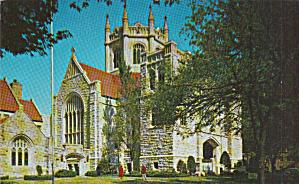 Wichita Kansas First Presbyterian Church Postcard P40400 (Image1)