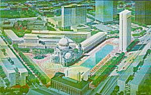 Boston Massachusett Christian Science Churc Center From Painint P40467 (Image1)