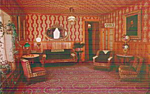 Virginia City Montana Fairweather Inn Interior Postcard P40481 (Image1)