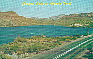Canyon Lake on Apache Trail Arizona Postcard P40504 (Image1)