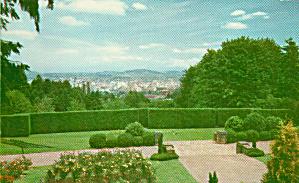 Portland Oregon From Washington Park Postcard P40575 (Image1)