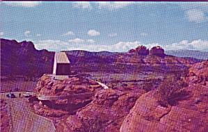 Sedona Arizona Chapel of the Holy Cross Postcard P40609 (Image1)
