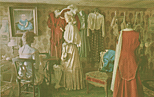 Virginia City Montana Dress Shop Postcard P40670 (Image1)