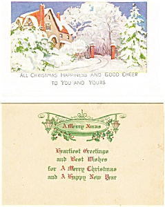 Christmas Postcard  Lot 2 (Image1)
