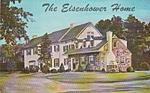 Gettysburg Pennsyvania Eisenhower Home Postcard P40756 (Image1)